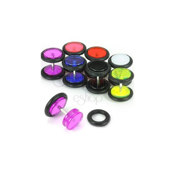Fake UV ear plug