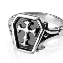 Stainless steel ring - Celtic cross